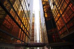 Goldenes Gebäude Stockbild