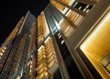 Goldenes Gebäude Stockfoto