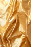 Goldenes Gewebe Stockfotografie