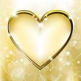 Goldenes Inneres Lizenzfreies Stockbild