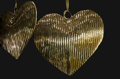 Goldenes Inneres Stockbild