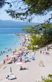 Goldenes Kap, Kroatien Lizenzfreies Stockbild