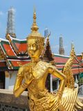 Goldenes kinnari großartiger Palast Stockfotografie