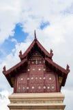 Goldenes Kirche wat chiangmai Thailand Lizenzfreies Stockbild