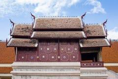 Goldenes Kirche wat chiangmai Thailand Stockfotos