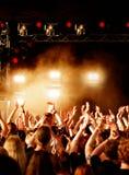 Goldenes Konzert Stockbild