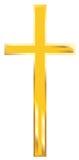Goldenes Kreuz Lizenzfreie Stockfotografie
