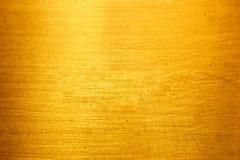 Goldenes Metall (Beschaffenheit) Lizenzfreie Stockfotos