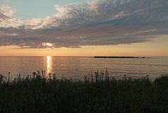Goldenes Morgenlicht lizenzfreies stockbild