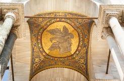 Goldenes Mosaik, die Kathedrale von San Marco, Venedig Stockbild