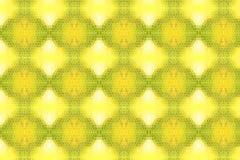 Goldenes Mosaikmuster lizenzfreie abbildung