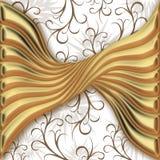 Goldenes Muster Stockfotos