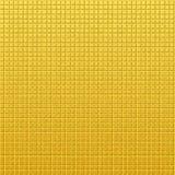Goldenes Muster der Weinlese von Quadraten Lizenzfreies Stockbild