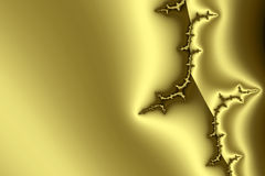 Goldenes Muster II lizenzfreie abbildung