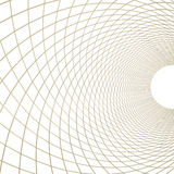 Goldenes Netz auf Weiß Stockbilder