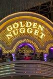 Goldenes Nuggethotel und -kasino Stockfotografie