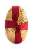 Goldenes Osterei Lizenzfreies Stockfoto