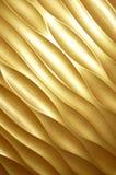 Goldenes Panel Stockfoto
