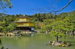 Goldenes Pavillion in Kyoto Lizenzfreie Stockbilder