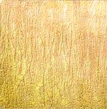 Goldenes Rosa gemalter strukturierter Hintergrund Stockbilder