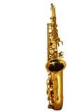 Goldenes Saxophon Stockfotos