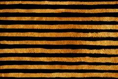 Goldenes Schmutzstreifenmuster Stockfoto