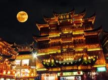 Goldenes Shanghai Lizenzfreies Stockbild