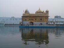 Goldenes tempel Stockfotografie