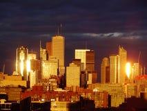 Goldenes Toronto lizenzfreie stockfotografie
