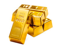 Goldenes Vermögen Stockbilder