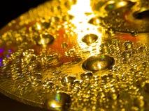Goldenes Wasser stockfoto