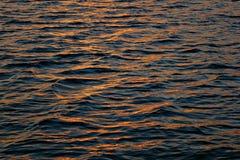 Goldenes Wasser lizenzfreie stockbilder