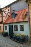 Goldenes Weg-Haus Lizenzfreie Stockfotos
