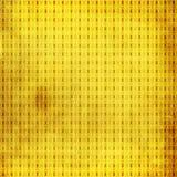 Goldenes Weinlese-Muster lizenzfreie abbildung