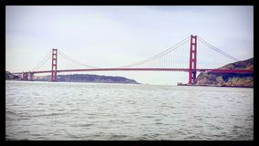 GoldenGateBridge Foto de Stock