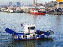 Goldenhorn morza & stoczni Cleaning statek fotografia royalty free