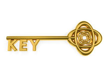 GoldenKey Photo libre de droits