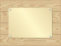 Goldenl-Platte Lizenzfreie Stockbilder