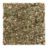 Goldenrod Herb Leaf. Used in natural alternative herbal medicine over white background. Solidago Stock Photos