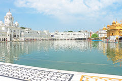 Goldent ναός σύνθετο Punjab Ινδία Amritsar Στοκ εικόνα με δικαίωμα ελεύθερης χρήσης