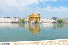 Goldent ναός σύνθετο Punjab Ινδία Amritsar Στοκ φωτογραφίες με δικαίωμα ελεύθερης χρήσης