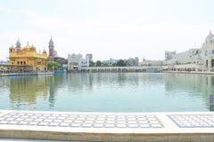 Goldent ναός σύνθετο Punjab Ινδία Amritsar Στοκ Εικόνες