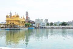 Goldent ναός σύνθετο Punjab Ινδία Amritsar Στοκ εικόνες με δικαίωμα ελεύθερης χρήσης