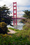 Goldent Gatter, San Francisco Lizenzfreie Stockfotografie
