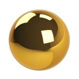 Golder piłka Zdjęcia Royalty Free