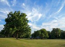 12 2010 golders зеленеют парк принятый сентябрь london ландшафта Стоковые Изображения RF