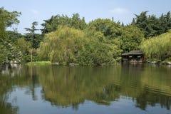 12 2010 golders zielenieją krajobrazowego London brać parkowy Wrzesień Obraz Stock