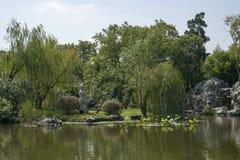 12 2010 golders zielenieją krajobrazowego London brać parkowy Wrzesień Obrazy Stock