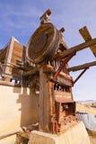 Goldförderung-Stempel-Mühle Lizenzfreie Stockfotografie
