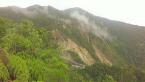 Goldförderungs-Umweltfolgen in Süd-Ecuador stock footage
